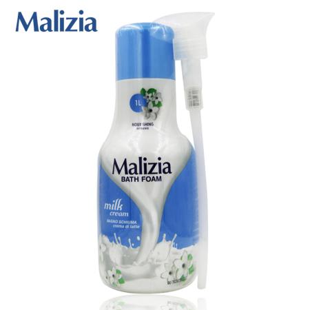 意大利进口 Malizia玛莉吉亚润滑沐浴露·牛奶香型  牛奶香型  牛奶香型