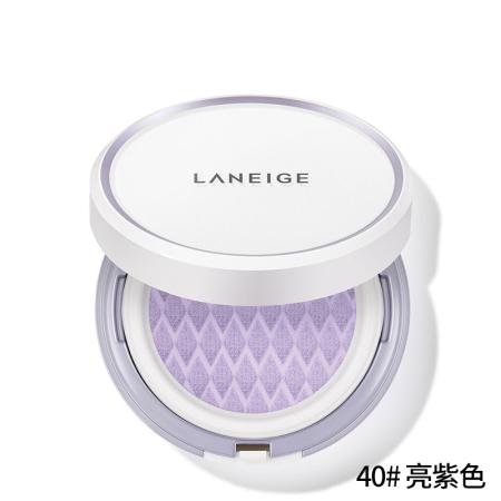 兰芝新款雪纱水漾隔离气垫·15g*2(40#紫色)
