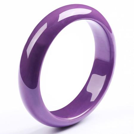 老冯记精选紫云母富贵紫气东来手镯