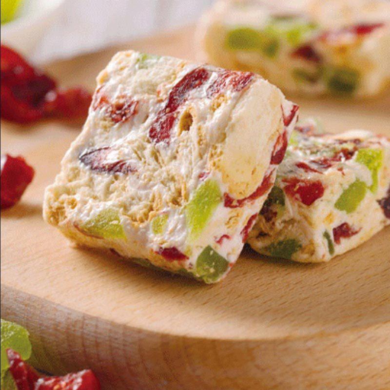慕丽滋牛轧雪花酥428g蔓越莓味