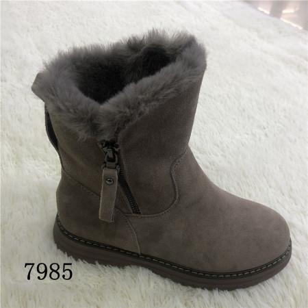 意利都新品靴子·7985·豆沙色