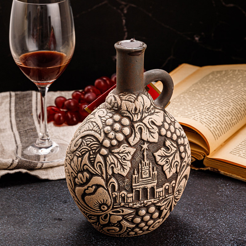 PALAVANI陶罐干红葡萄酒(辉煌历史款)·彩色