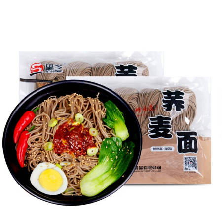 望乡荞麦鲜湿面400g*6袋