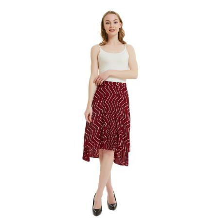 Jane Eyre 百褶不对称半身裙·三色可选·遮肉显瘦杠杠的 完全不挑人!