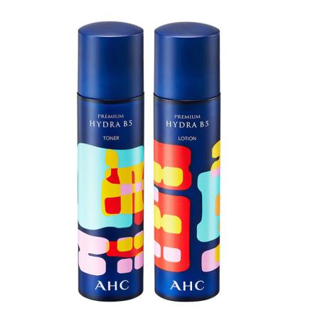 【香港直邮】AHC玻尿酸B5水乳套装 20周年限量版