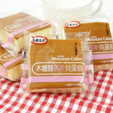 鑫康佳品木糖醇慕斯纯蛋糕1000g