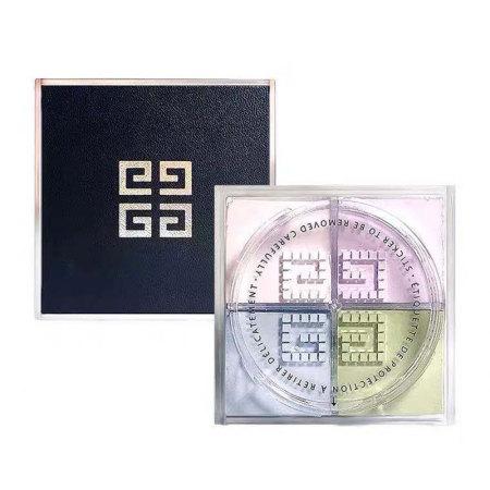 纪梵希Givenchy明星四宫格散粉1#+Dior香水旷野Q版三件套礼盒臻享装·1#