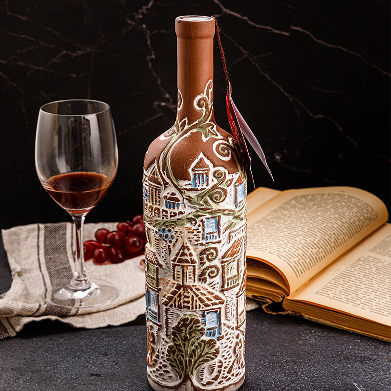 PALAVANI陶罐干红葡萄酒(山城款)·彩色