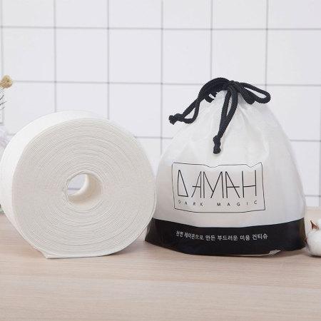 韩国DAMAH黑魔法洗脸巾一次性干湿两用擦脸卸妆洁面巾80抽