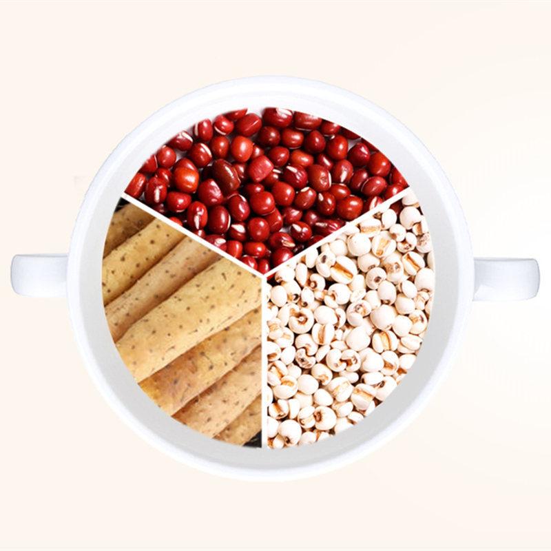 红豆薏米山药粉500g*2罐,低卡路里,天然谷物代餐粉,远离水肿,告别湿气