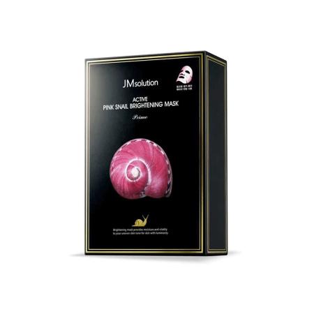 【香港直邮】韩国JM新款面膜组合装·蜗牛原液10片*3盒