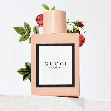 【香港直邮】新款Gucci古驰Bloom花悦绽放女士香水EDP50ml