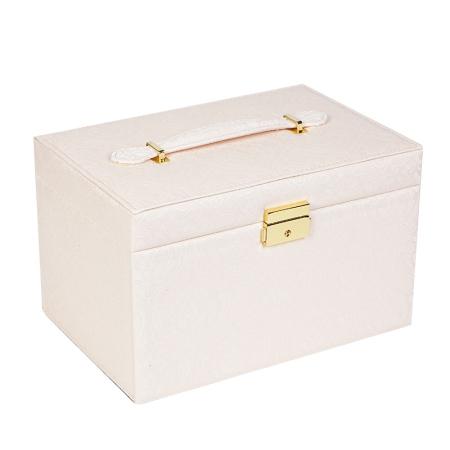 百年许氏 多层首饰收纳盒·藕粉色