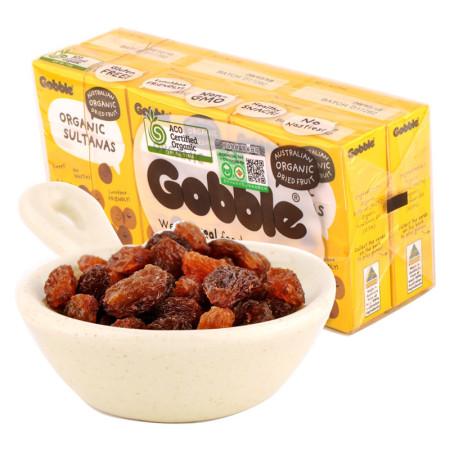 澳大利亚进口 酷布有机葡萄干(35g*6盒)*2组 无籽白葡萄干