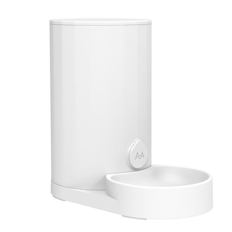 美芙 素白猫咪自动喂食/饮水器·喂食器