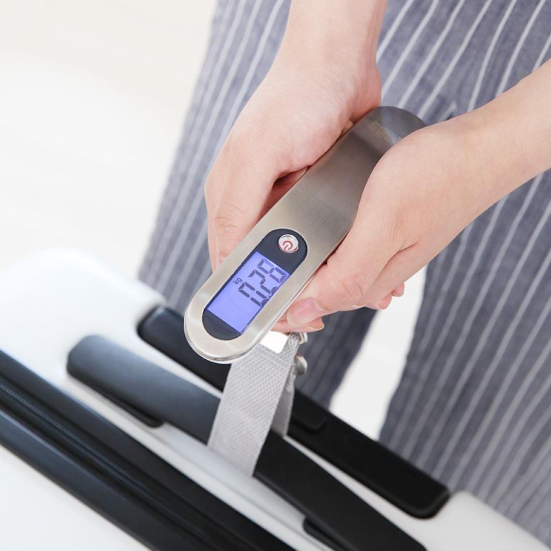 YOUNGTIME 手提电子秤行李箱便携精准50kg克秤快递包裹迷你称重器
