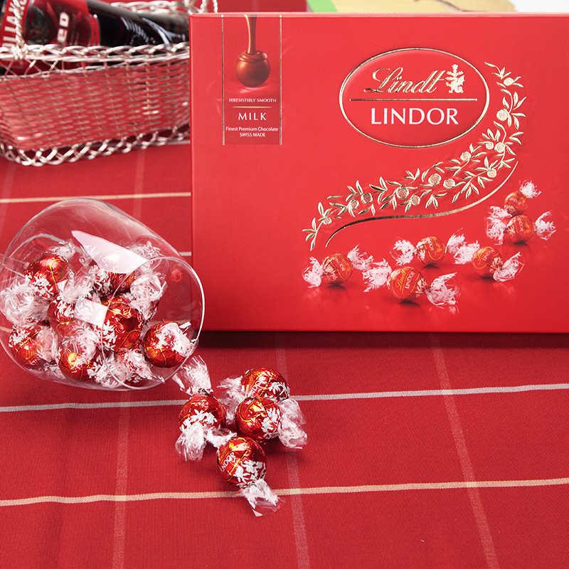 Lindt瑞士莲软心巧克力球14粒礼盒168g