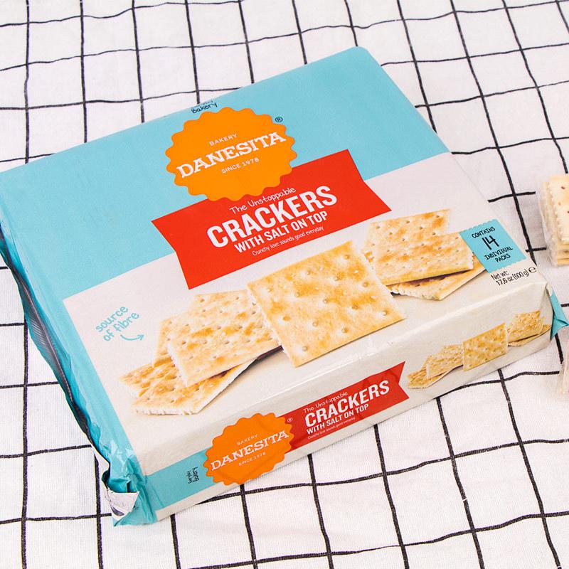 葡萄牙原装进口丹妮丝塔苏打饼干·500g*10盒