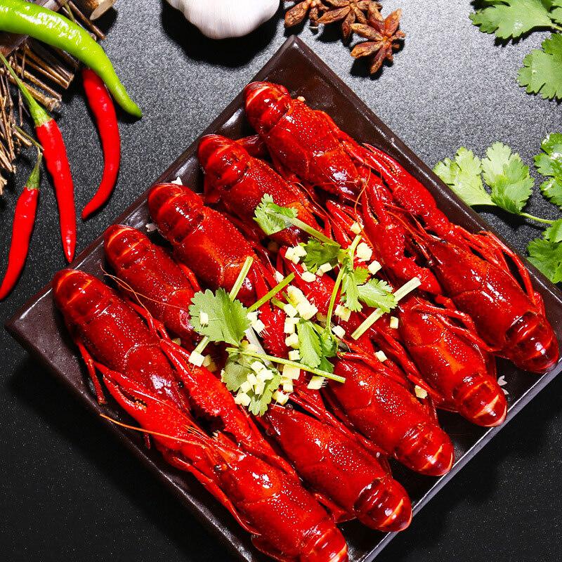 红小厨麻辣+十三香小龙虾4-6钱1800g各一盒