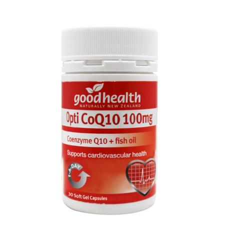 跨境品goodhealth辅酶Q10胶囊30粒*8瓶