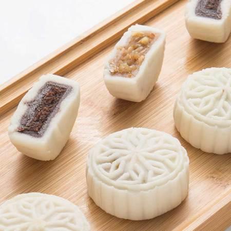 万寿斋   散装冰皮糕点40g*8块家庭实惠装