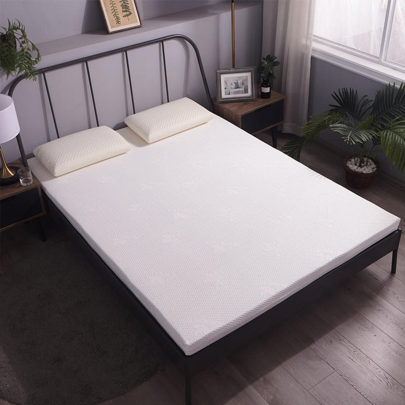 维众 泰国原芯进口乳胶床垫5CM·白