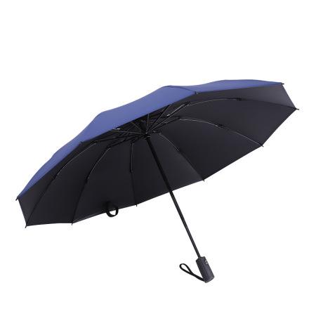 泳伶开合全自动反向防晒伞·藏蓝色