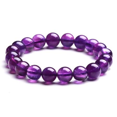 满记精选紫水晶/虎眼石貔貅/马粉晶/金曜石手链 <四款任选>·紫水晶