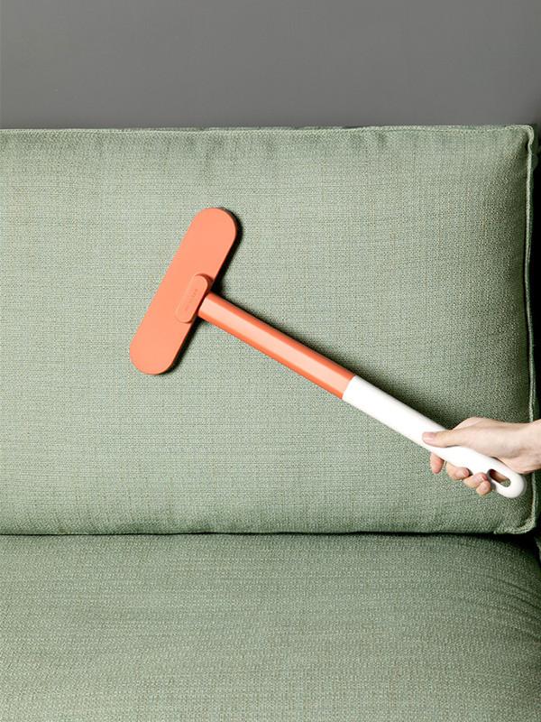 飞兔多功能免拆洗纱窗清洁刷家用擦玻璃刮2个装·白橘+白色