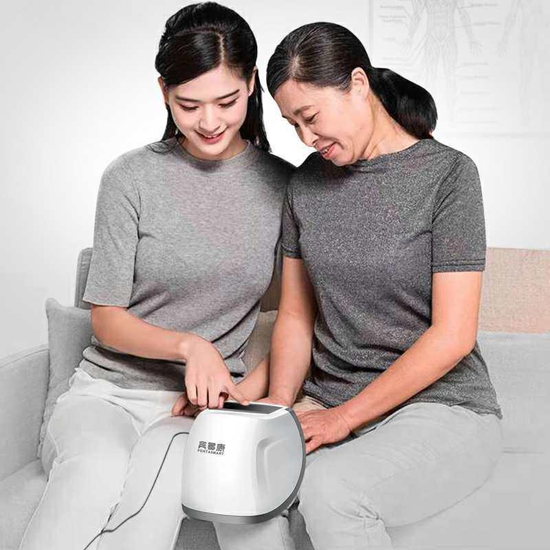 宾多康护膝宝 热敷膝盖关节按摩器·白色