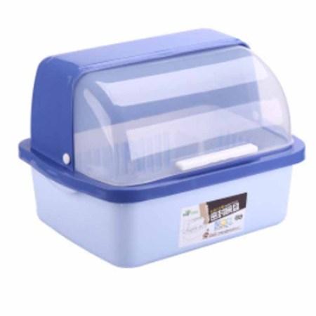 ssgp半翻盖沥水碗柜中号·蓝色