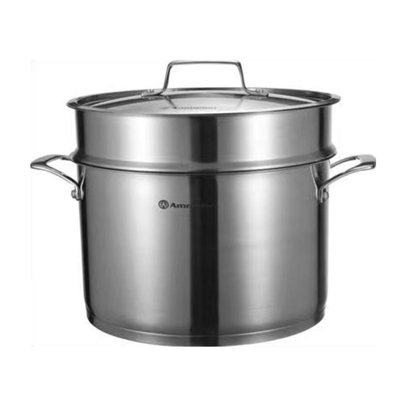 AMMELOO三代高端精铸不锈铁锅组合