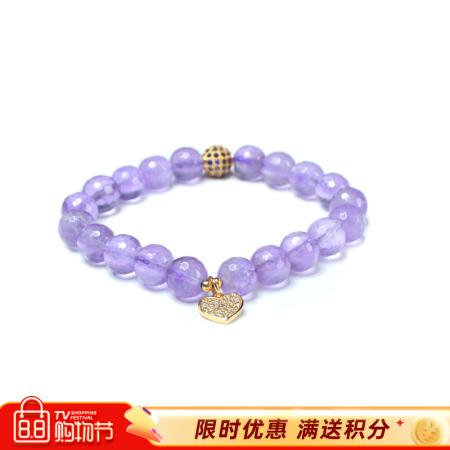 映时欧美风切面紫水晶时尚手串两款可选·8130款