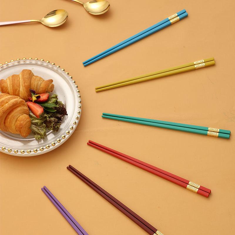 康宁 彩虹筷子勺子8件组-礼盒装(筷子*6+勺子*2)EK-K6S2/KZ·彩虹色