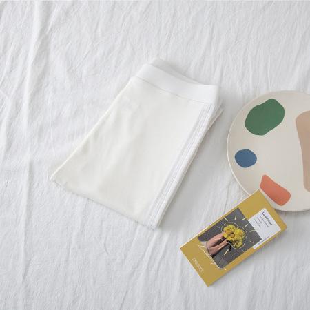 絮笈纯棉/莫代尔打底裤加肥加大200斤胖mm打底裤两件组·莫代尔9795白色