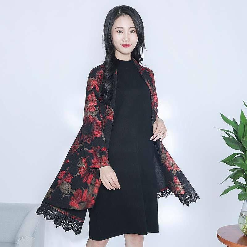 金典娜设计款外搭衫·黑色