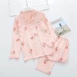 长袖+长裤(西瓜粉色)