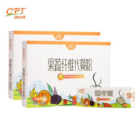 康比特代餐粉组合(21袋/2盒+5袋每盒·绿色