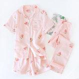 短袖+短裤(西瓜粉色)