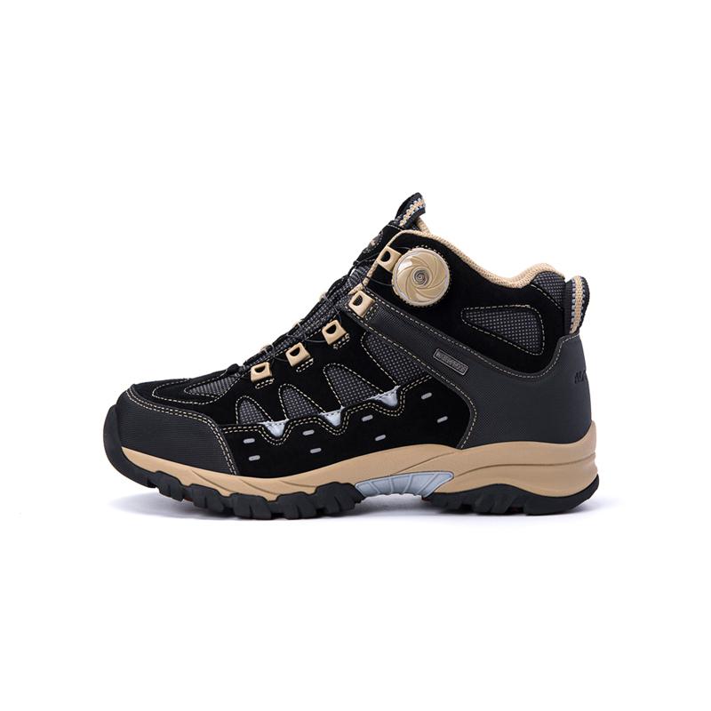 AIRBREATHE高帮保暖BOA扣女靴·黑色