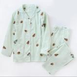 长袖+长裤(松果绿色)