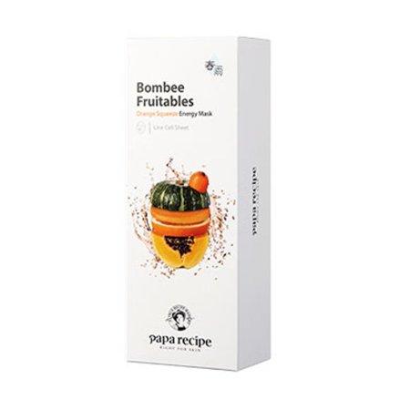 香港直邮 Paparecipe春雨果蔬系列面膜·橘色提亮
