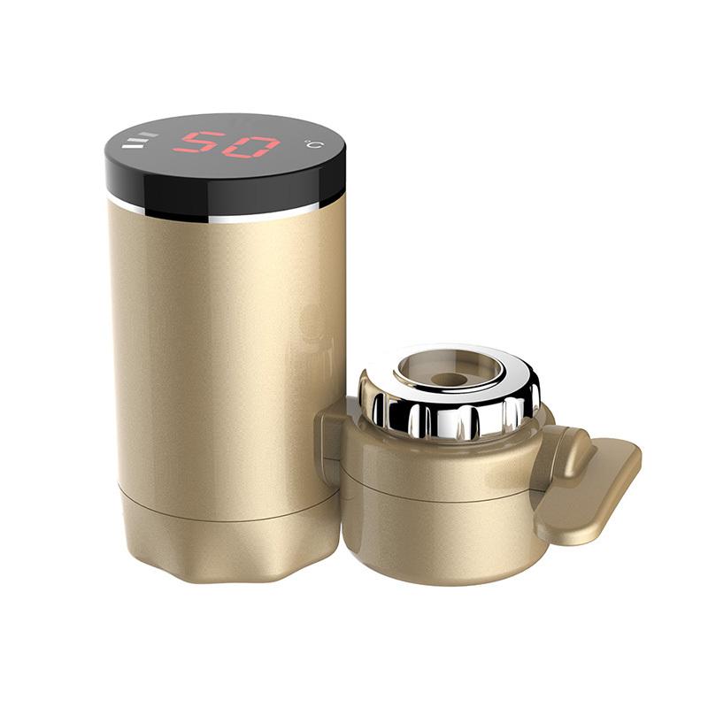 韩国现代 即热式水龙头加热器XX-18-A·香槟金