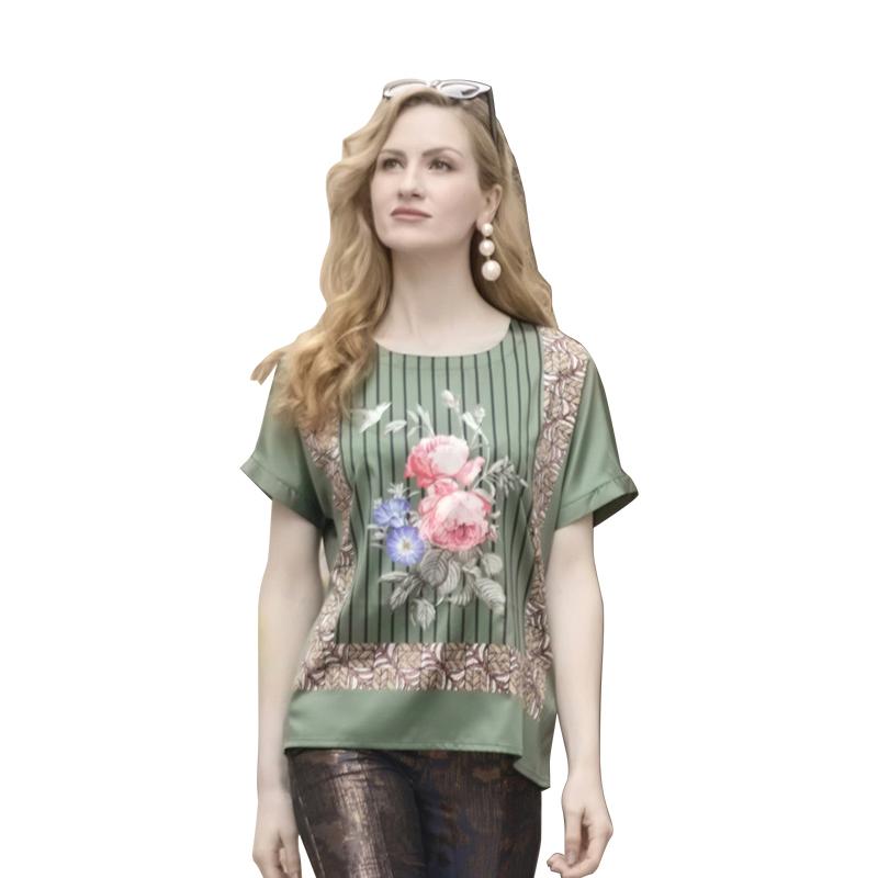 优廷3D印花御品缎上衣·4件组