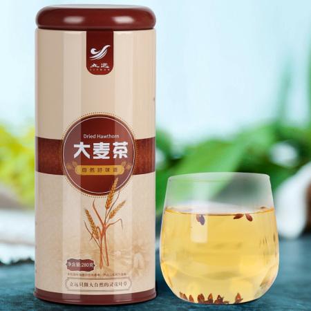 立远 彩韵铁罐 大麦茶280g*2罐