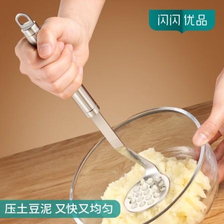 304不锈钢加厚土豆压泥器碾碎器