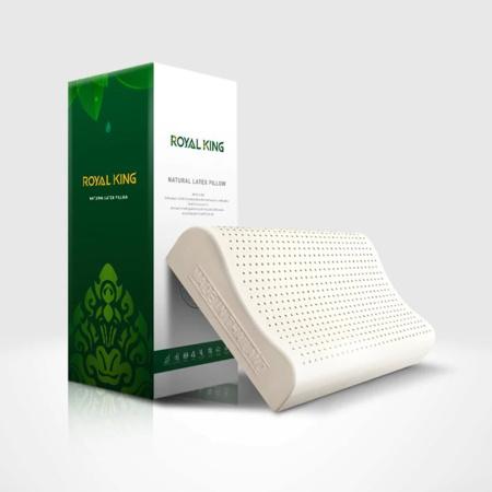 泰国RoyalKing(原装进口)高低无颗粒乳胶枕