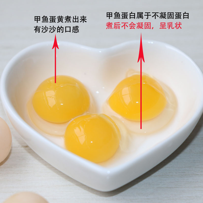 【中国龟鳖之乡】甲鱼蛋100枚  中华草龟蛋可选