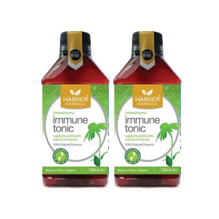 Harker Herbals天然草本增强免疫力口服液 250ML* 2瓶