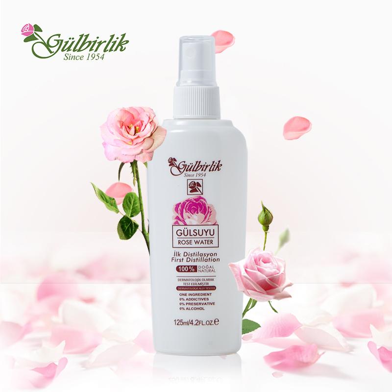 土耳其Gulbirlik 玫瑰水喷雾125ml*2  共同